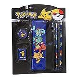 Pokemon GS-406-PK Set de Papelería con Portatodo , color/modelo surtido