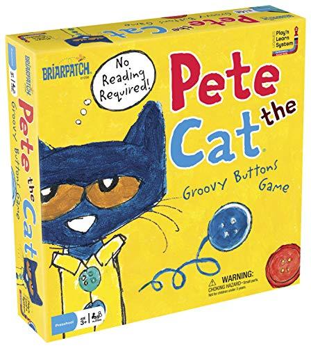 University Games Pete The Cat Groovy Buttons Game, Multi-Colour, 6.35 x 26.67 x 26.37 cm