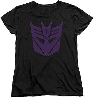Transformers Decepticon Logo Women's T Shirt & Stickers
