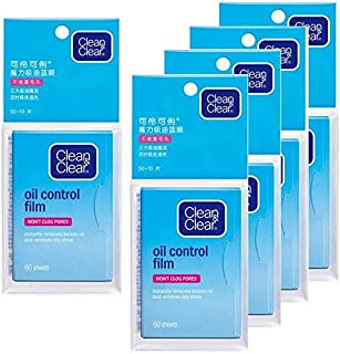 Oil Control Film, Same Series with Clean & Clear Oil Absorbing Sheets for Oily Skin Care, Blotting Paper to Remove Excess...