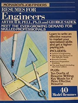Paperback Monarch's Job Finders Resumes for Engineers Book