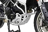 Alerón protector para motor Ducati Multistrada 950 BJ 2017, color plateado IBEX