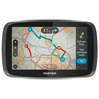 Tomtom-GO-600-6-Sat-NAV-mit-Lebenslange-Karte-von-Europa-und-Traffic-Parent