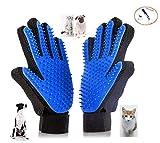 Anlising Pet Bürste Handschuh Haustier Grooming Bürsten Deshedding Haustier-Handschuh Haustier Pflegehandschuh Haustierhandschuh 2 PCS Für Hunde und Katzen