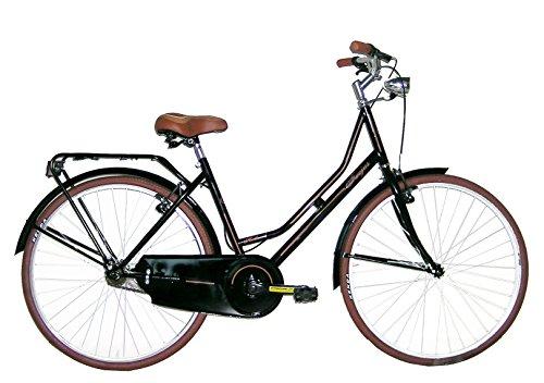 FREJUS Bristol, Bicicletta da Città Donna, Nero, M