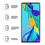 Huawei P30 Smartphone débloqué 4G (6,1 pouces - 6/128Go - Double Nano SIM - Android 9) Blanc nacré