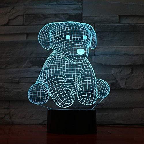 Nachtlicht für Kinder , Illusionslampe , 7 Farben Dimmbar USB Powered Touch , Bestes Geschenk für Kinder Mädchen Jungen