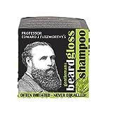 Professor Fuzzworthy's Apple Tonic BEARD SHAMPOO BAR - Light Fresh Scent | 100% Natural Premium Ingredients Promote Beard Growth Anti Itch | 4.2 oz bar - TWO 27 fl oz liquid shampoo