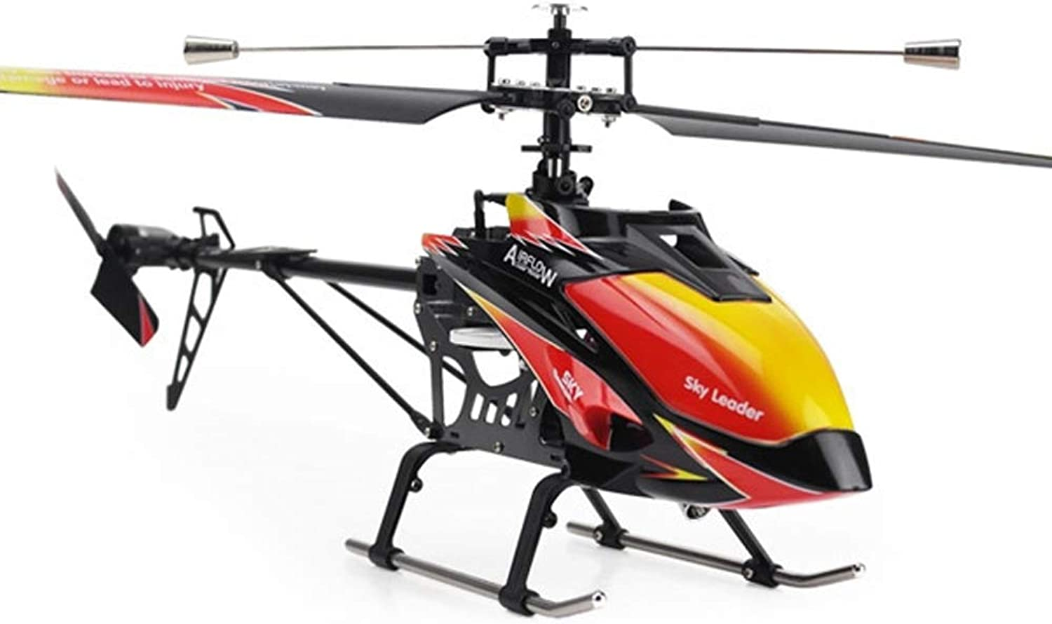 Pinjeer 2.4GHz 4ch Single-propeller Rc Helicopter 70cm Built-In Gyro Toys Rc Helicopter Model With LCD Transmitter Educational Toys Birthday Gifts for Kids 14+ (Size   4-Battery)