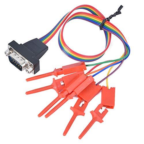 Osciloscopio Virtual Portátil USB PC, Kit De Depuración De Equipos Mini 20 MHz De Ancho De Banda Digital Con Analizador Lógico De 4 Canales Para Interiores Y Exteriores Para La Industria