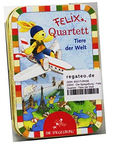20650 - Die Spiegelburg - Felix: Quartett - Tiere der Welt