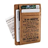 Son Memorial Gifts - Personalized Pocket Wallet For Daughter...