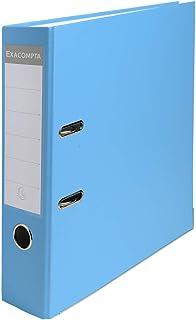 comprar comparacion Exacompta 918412B - Archivador de palanca polipropileno, A4, Lomo 80mm, Azul Claro, 1 pieza