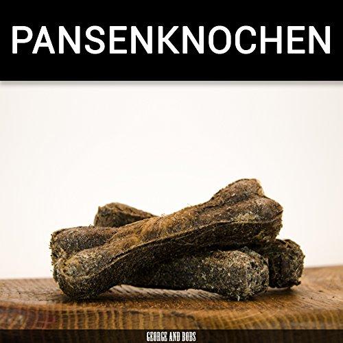 Pansenknochen - 10Stk. von George and Bobs Kauknochen aus 100% Pansen