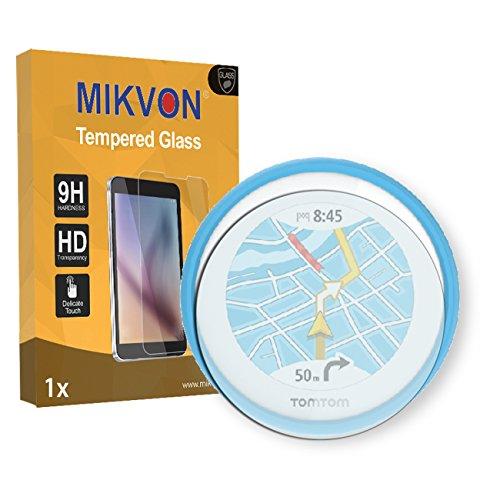 1x Mikvon flessibile Tempered Glass 9H per TomTom Vio Pellicola Protettiva - Confezione ed accessori