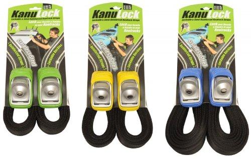 Kanulock Strap Snow/Surf/SUP/Tour - Sicherheits-Gurtbänder (Set), Länge:2.5m