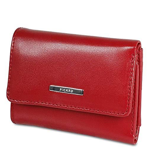 Picard, Damen Portemonnaie, aus Leder, in der Farbe Rot, aus der Serie Offenbach, 822801E87