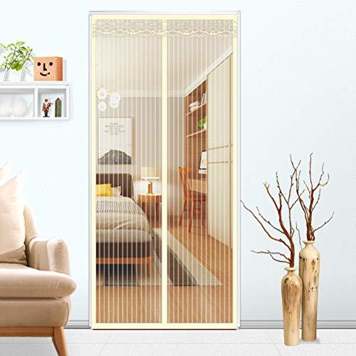 Airyyj Magnetisch horgordijn voor deuren, magische pasta, gordijnen, magnetische vliegen en insecten, voor balkon, schuifdeuren, woonkamer