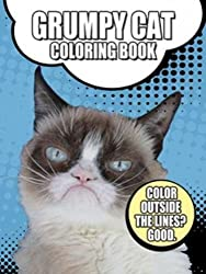 grumpy cat coloring book for adults