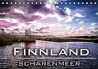 Finnland Schaerenmeer (Tischkalender 2022 DIN A5 quer): Die Suedwestkueste Finnlands ist die Heimat des Schaerenmeers. Das Meeresgebiet ist mit hunderten Schaeren und Klippen durchsetzt. (Monatskalender, 14 Seiten )