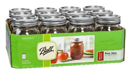 Mason Jars Set of 12