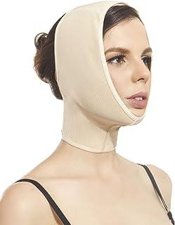 Faja Mentonera Unitalla para papada, Cuello, mentón, cachetes, Orejas. Útil para Lifting Facial Natural, postuirúrgica o p...