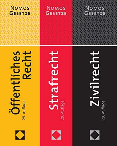 Zivilrecht - Strafrecht - Öffentliches Recht: Textsammlung