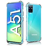 For Samsung A51 Clear Case,Galaxy A51 Phone Cover