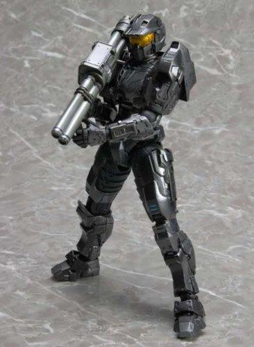 Square Enix Halo Reach Play Arts Kai Action Figure Black Spartan Mark V