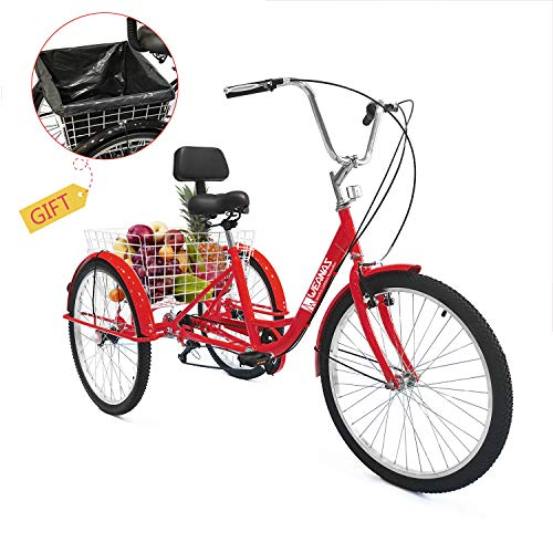 "Adult 26/"" 3-Wheel Shimano 1-Speed Tricycle Installation Tools 26inch  Bicycle"