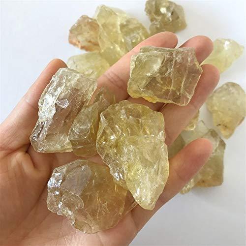 Mrjg Perlen 100g Bulk Raw Natural Citrine Quartz Crystal Rohsteine Yellow Quartz Crystal Rohedelstein Naturstein Probe Steinperlen