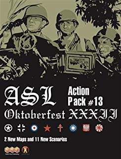 MMP: Action Pack #13, Oktoberfest XXX II, Scenario Kit for the ASL Advanced Squad Leader Game Series