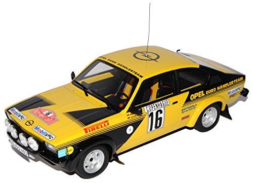 Opel Kadett GTE Gruppe 4 Rally Monte Carlo Röhrl Nr 195 1/18 Otto Modell Auto