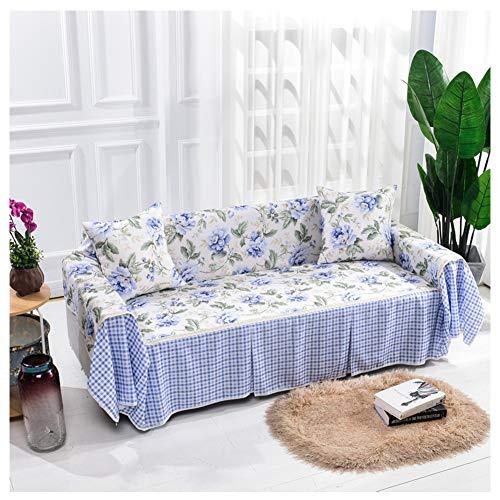 GELing Funda elástica para sofá de 1 2 3 4 plazas, Cubierta Antideslizante en Tejido elástico Extensible, Protector de sofá,1,Dos Plazas