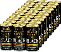 財宝 ダイヤモンド コーヒー ブラック 無糖 缶 185g×30本