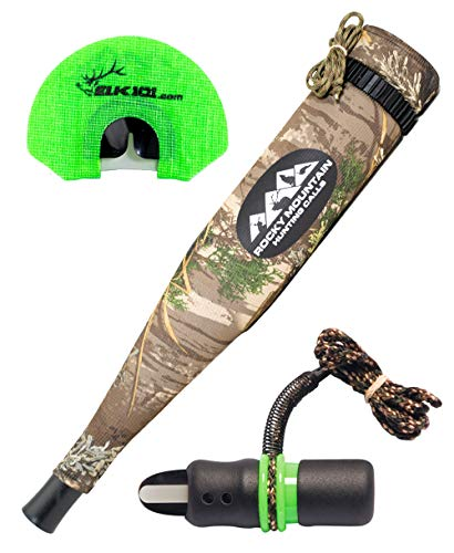 Rocky Mountain Hunting Calls C6 Elk101 Signature Series Complete Calling System: All-Star Diaphragm Elk Call, Temptress Open Reed Cow Call, and Bully Bull Extreme Grunt Tube
