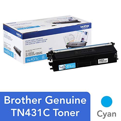 Brother Printer TN431C Standard Yield Toner-Retail Packaging , Cyan