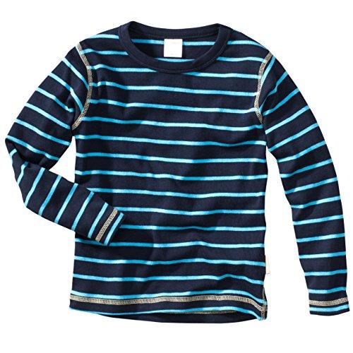 wellyou Ringel Langarm-Shirt blau-türkis , Farbe - D1 , Gr.92 - 98cm