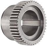 Lovejoy 00075 Size C 2 Sier-Bath Continuous Sleeve Gear Coupling, Flex Hub, Carbon Steel, ...