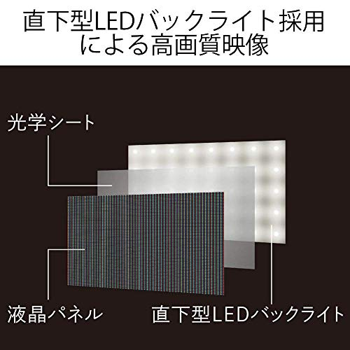 『シャープ 32V型 液晶 テレビ AQUOS LC-32W5 ハイビジョン 外付HDD対応(裏番組録画) アナログRGB端子付』の3枚目の画像