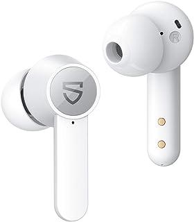 SoundPEATS Cuffie Bluetooth con Ricarica Senza Fili, Auricolari Bluetooth 4 microfoni, Bassi Profondi con Driver da 10 mm,...