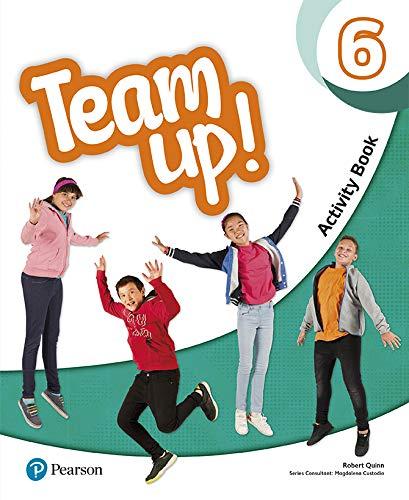 Team Up! 6 Activity Book Print & Digital Interactive Activity Book -Online...