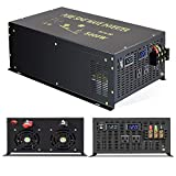 Reliable 5000W Continuous Power Heavy Duty Pure Sine Wave Power Inverter DC 12V to AC 110V 120V with...