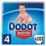 Dodot Pants Pañal-Braguita Talla 4, 102 Pañales,...