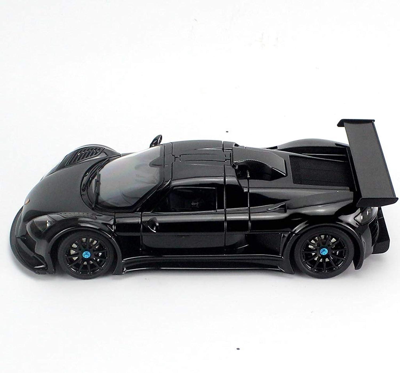 GAOQUN-TOY 1  18Apollo Apollo S Sportwagen Simulation Metallmodell Legierung Modellauto (Farbe   SCHWARZ, gre   25cm11cm7cm)