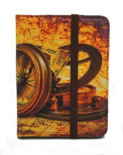 Funda para Libro electrónico eReader eBook de 6 Pulgadas - Woxter, Tagus, BQ, Energy, SPC, Sony, Inves, Papyre, Wolder, Nolim - 6' Universal - Estampados (6', 82)