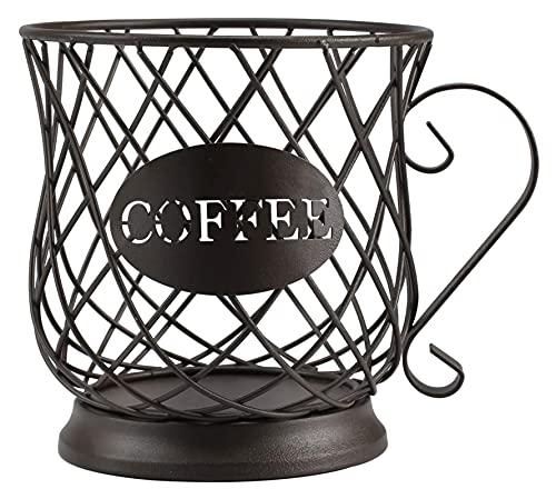 Pointedd Cesta de la cápsula de la cápsula de café, Soporte Multifuncional de la Bolsa de café, Taza de Taza de Taza de café.