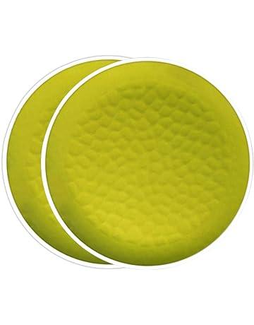 BLANC MARICLO Set 6 sottopiatti CONCERTO in plastica /Ø33 x H 2 cm A30450