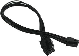 COMeap Mini 6 pines a 6 pines PCI-Express Tarjeta de video Adaptador de corriente Cable para Mac Pro G5 de 14 pulgadas (35 cm) (paquete de 2)
