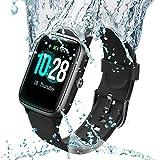 Lintelek Smart Watch Full-Touch Screen Sports Watch with GPS Fitness Tracker Waterproof IP68